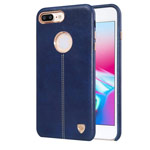 Чехол Nillkin Englon Leather Cover для Apple iPhone 8 plus (синий, кожаный)