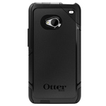 Чехол Otterbox Commuter Series Case для HTC One 801e (HTC M7) (черный, пластиковый)