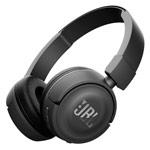 Наушники JBL Wireless On-Ear Headphones T450BT универсальные (беспроводные, черные, микрофон)