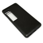 Чехол Yotrix SnapCase для Meizu Pro 7 (черный, кожаный)