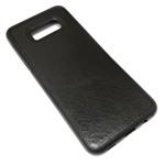 Чехол Yotrix SnapCase для Samsung Galaxy S8 plus (черный, кожаный)