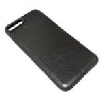Чехол Yotrix SnapCase для Apple iPhone 8 plus (черный, кожаный)