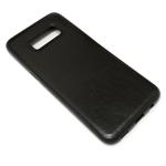 Чехол Yotrix SnapCase для Samsung Galaxy S8 (черный, кожаный)