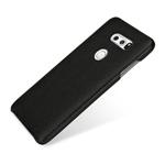 Чехол Yotrix SnapCase для LG V30 (черный, кожаный)