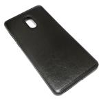 Чехол Yotrix SnapCase для Nokia 6 (черный, кожаный)