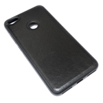 Чехол Yotrix SnapCase для Xiaomi Redmi Note 5A/5A prime (черный, кожаный)