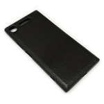 Чехол Yotrix SnapCase для Sony Xperia XZ1 (черный, кожаный)