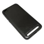 Чехол Yotrix SnapCase для Xiaomi Redmi 5A (черный, кожаный)