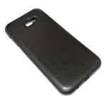 Чехол Yotrix SnapCase для Samsung Galaxy A3 2017 (черный, кожаный)