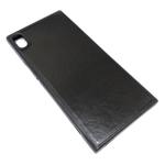 Чехол Yotrix SnapCase для Sony Xperia XA1 ultra (черный, кожаный)