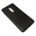 Чехол Yotrix SnapCase для Nokia 5 (черный, кожаный)