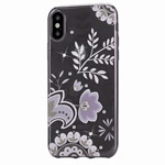 Чехол Devia Crystal Bloosom для Apple iPhone X (Silvery, гелевый)