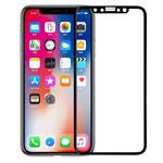 Защитная пленка Vouni 3D Full Screen Tempered Glass для Apple iPhone X (черная, стеклянная, 0.18 мм, двухсторонняя)