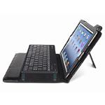 Чехол Dexim iBluek с Bluetooth-клавиатурой для Apple iPad 2/new iPad (черный, кожанный)