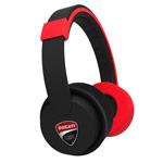 Наушники Ducati Corse N-01 Headphones (черные/красные, пульт/микрофон, 20-22000 Гц)