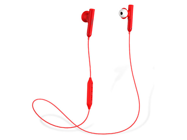 Беспроводные наушники Remax Sport Bluetooth Earphone RB-S9 (красные, пульт/микрофон, 20-20000 Гц)