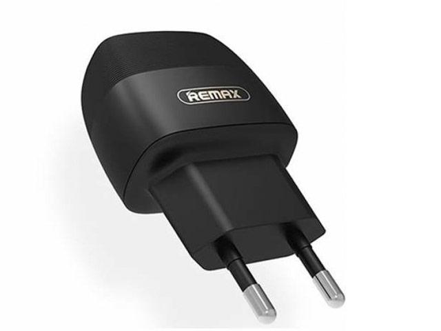 Зарядное устройство Remax Flinc Series универсальное (сетевое, 2xUSB, 2.1A, черное)