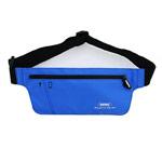 Чехол-повязка Remax Sport Waist Bag для телефонов (голубой, матерчатый)