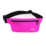 Чехол-повязка Remax Sport Waist Bag для телефонов (розовый, матерчатый)