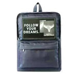 Рюкзак Remax Double Bag #607 (темно-синий, 1 отделение, 1 карман)