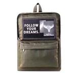 Рюкзак Remax Double Bag #607 (темно-зеленый, 1 отделение, 1 карман)