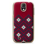 Чехол X-doria Dash Icon Case для Samsung Galaxy S4 i9500 (красный, матерчатый)