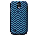 Чехол X-doria Dash Icon Case для Samsung Galaxy S4 i9500 (синий, матерчатый)