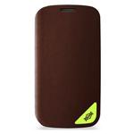 Чехол X-doria Dash Pro case для Samsung Galaxy S4 i9500 (темно-коричневый, кожанный)
