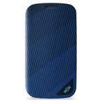 Чехол X-doria Dash Pro case для Samsung Galaxy S4 i9500 (синий, кожанный)