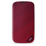 Чехол X-doria Dash Pro case для Samsung Galaxy S4 i9500 (красный, кожанный)
