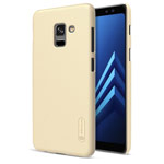 Чехол Nillkin Hard case для Samsung Galaxy A8 2018 (золотистый, пластиковый)