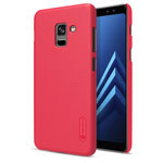 Чехол Nillkin Hard case для Samsung Galaxy A8 plus 2018 (красный, пластиковый)