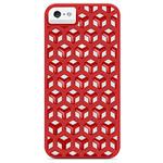 Чехол X-doria Engage Form HC Case для Apple iPhone 5 (красный, пластиковый)