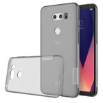 Чехол Nillkin Nature case для LG V30 (серый, гелевый)