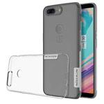 Чехол Nillkin Nature case для OnePlus 5T (прозрачный, гелевый)