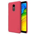 Чехол Nillkin Hard case для Xiaomi Redmi 5 plus (красный, пластиковый)