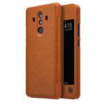 Чехол Nillkin Qin leather case для Huawei Mate 10 pro (коричневый, кожаный)