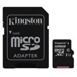 Флеш-карта Kingston microSD (128Gb, microSD, Class 10 U1)