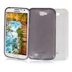 Чехол Jekod Soft case для Samsung Galaxy Note 2 N7100 (белый, гелевый)