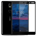 Защитная пленка Yotrix 3D Glass Protector для Nokia 7 (стеклянная, черная)