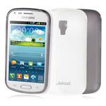 Чехол Jekod Soft case для Samsung Galaxy S Duos S7562 (белый, гелевый)