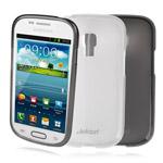 Чехол Jekod Soft case для Samsung Galaxy S3 mini i8190 (белый, гелевый)