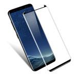 Защитная пленка Yotrix 3D SE Glass Protector для Samsung Galaxy S8 plus (стеклянная, черная)