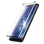 Защитная пленка Yotrix 3D Advance Glass Protector для Samsung Galaxy S8 plus (стеклянная, черная)