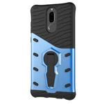 Чехол Yotrix StandCase для Huawei Mate 10 lite (синий, пластиковый)
