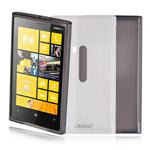 Чехол Jekod Soft case для Nokia Lumia 920 (белый, гелевый)