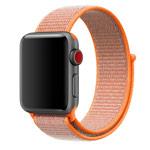 Ремешок для часов Synapse Sport Loop для Apple Watch (38 мм, оранжевый, нейлоновый)