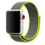Ремешок для часов Synapse Sport Loop для Apple Watch (38 мм, зеленый, нейлоновый)