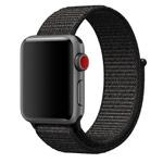 Ремешок для часов Synapse Sport Loop для Apple Watch (38 мм, черный, нейлоновый)