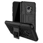 Чехол Yotrix Shockproof case для Samsung Galaxy S9 (черный, пластиковый)